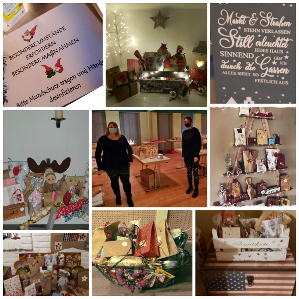 Frauenadventskalender Collage Bild 1